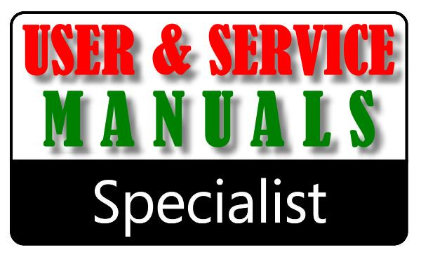 HGURKEM USER/OWNER'S MANUALS - SERVICE/MAINTENANCE MANUALS